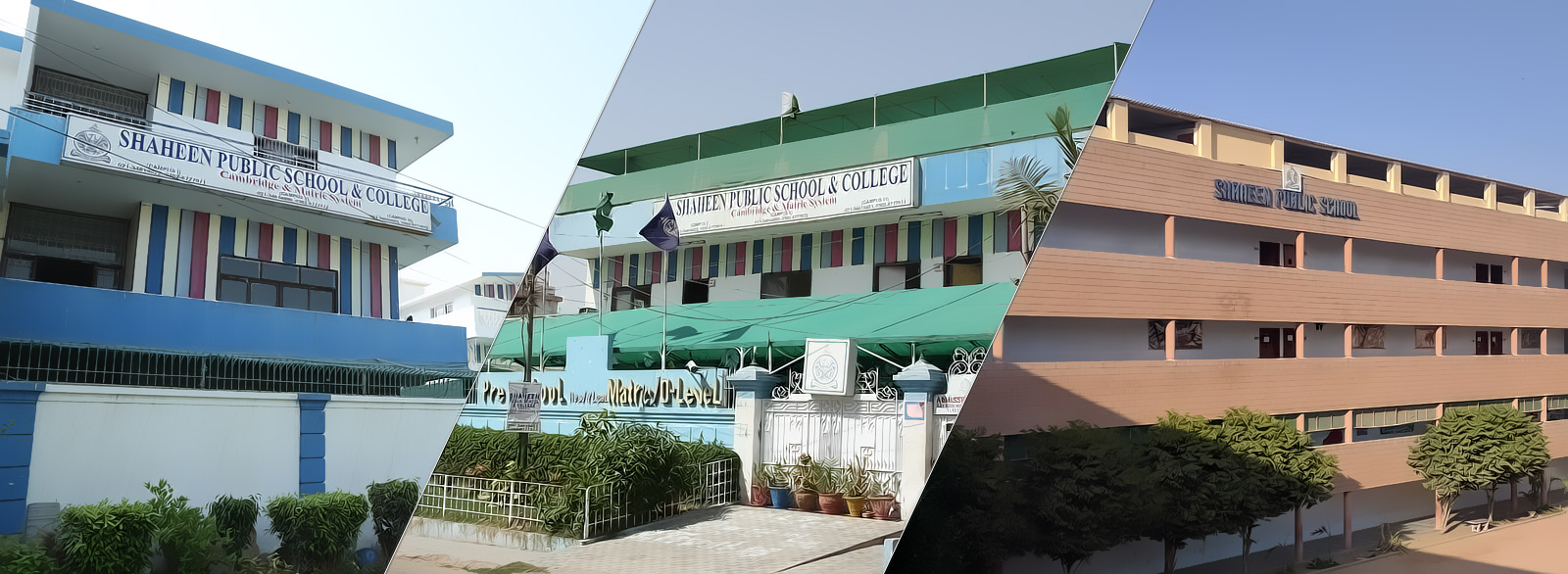Our Campuses Shaheen Public School College